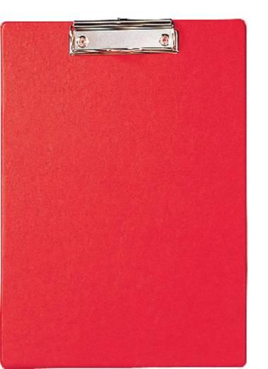MAUL Schreibplatte mit Folienüberzug/2335225, rot , DIN A4