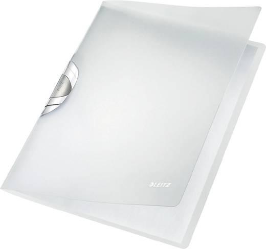 LEITZ Klemmhefter ColorClip Professional/4166-00-01, weiß, 220x5x310mm