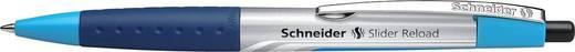 Schneider Kugelschreiber Slider RELOAD schwarz /728 XB/132601, schwarz