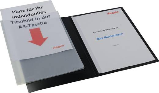 dataplus Präsentationsmappe Slide S 20187.086, PP, B224xH316mm, 500my