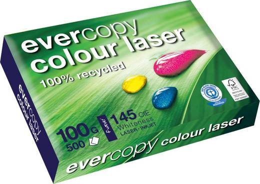 Clairefontaine Forever Colour Laser 50024C, DIN A3, weiß , 100 g/qm, Inh.500