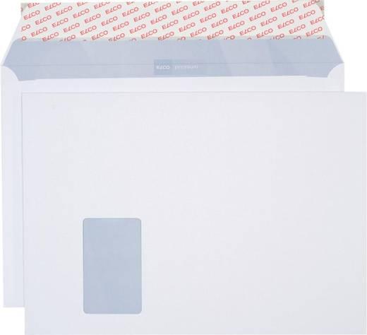 Elco Briefumschlag Haftklebung/34799, weiß,C4, mit Fenster, 120g/qm, Inh. 250