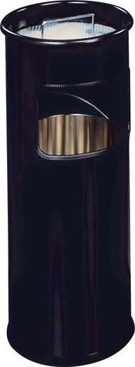 Mülleimer 17 l Durable 3330-01 (L x B x H) 305 x 302 x 687 mm Schwarz Inkl. Aschenbecher 1 St.