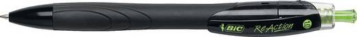 BIC Kugelschreiber ReAction ecolutions, schwarz/8871221, schwarz