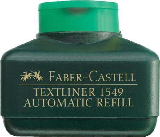 FABER-CASTELL Refillstation für Textliner/154915, grün, 30 ml