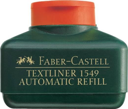 FABER-CASTELL Refillstation für Textliner/154928, orange, 30 ml