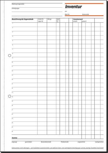 sigel Inventurbuch/IN415, weiß, A4 hoch, Inh. 50 Blatt