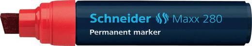 Schneider Permanent-Marker 280/128002, rot, Gehäuse blau, 4+12mm
