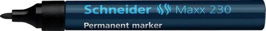 Schneider Permanent-Marker 230/123001, schwarz, Gehäuse blau, 1-3mm