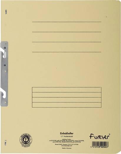 EXACOMPTA Einhakhefter mit vollem Deckel/352522B, elfenbein, A4, 250g/qm