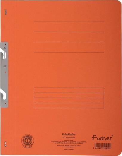 EXACOMPTA Einhakhefter mit vollem Deckel/352509B, orange, A4, 250g/qm