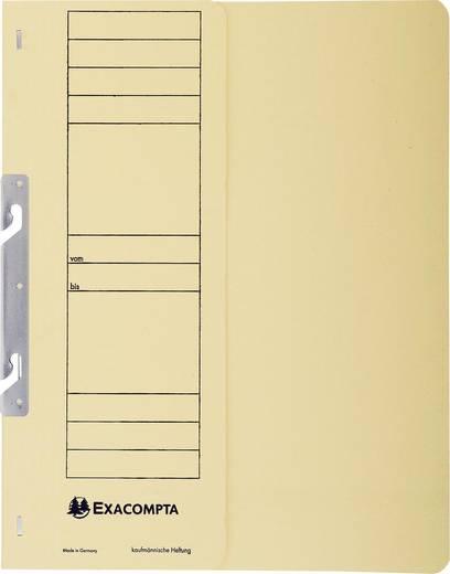 EXACOMPTA Einhakhefter mit halbem Deckel/352622B, elfenbein, A4, 250g/qm