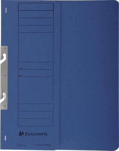 EXACOMPTA Einhakhefter mit halbem Deckel/352607B, blau, A4, 250g/qm
