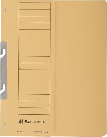 EXACOMPTA Einhakhefter mit halbem Deckel/352604B, gelb, A4, 250g/qm