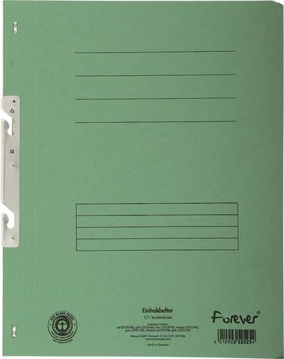 EXACOMPTA Einhakhefter mit vollem Deckel/352525B, grün, A4, 250g/qm