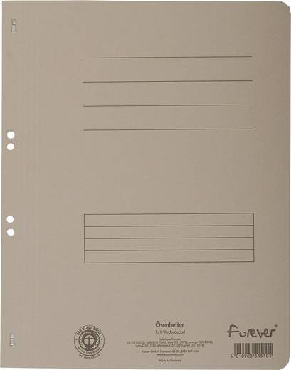 EXACOMPTA Ösenhefter/351510B, grau, A4, 250g/qm