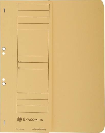 EXACOMPTA Ösenhefter/351604B, gelb, A4, 250g/qm