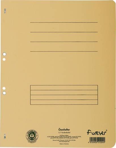 EXACOMPTA Ösenhefter/351504B, gelb, A4, 250g/qm