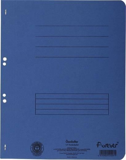 EXACOMPTA Ösenhefter/351507B, blau, A4, 250g/qm