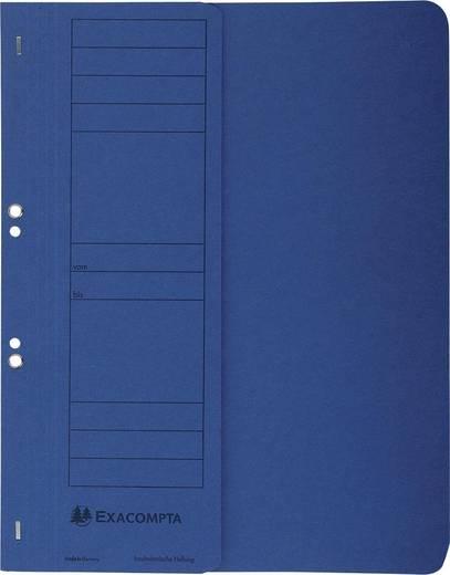 EXACOMPTA Ösenhefter/351607B, blau, A4, 250g/qm