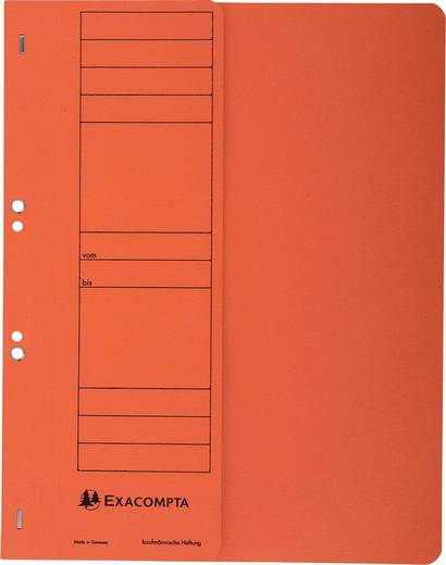 EXACOMPTA Ösenhefter/351609B, orange, A4, 250g/qm
