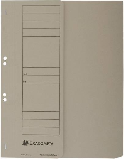 EXACOMPTA Ösenhefter/351610B, grau, A4, 250g/qm