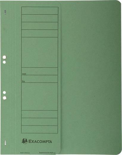 EXACOMPTA Ösenhefter/351625B, grün, A4, 250g/qm