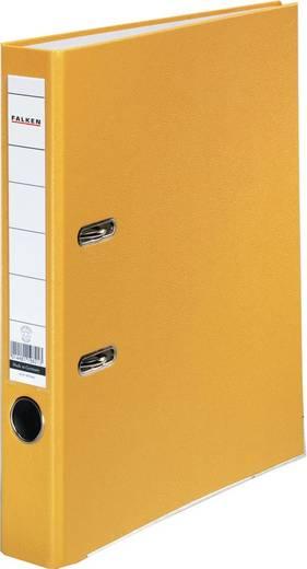 FALKEN Ordner PP-Color/9984139, gelb, Rücken 50mm, für A4
