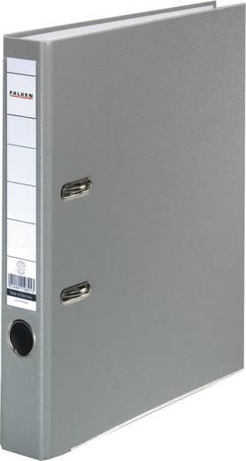 FALKEN Ordner PP-Color/9984113, grau, Rücken 50mm, für A4