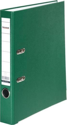 Falken Ordner FALKEN PP-Color DIN A4 Rückenbreite: 50 mm Grün 2 Bügel 9984147