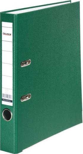 Falken Ordner PP-Color DIN A4 Rückenbreite: 50 mm Grün 2 Bügel 9984147