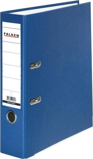 FALKEN Ordner PP-Color/9984063, blau, Rücken 80mm, für A4