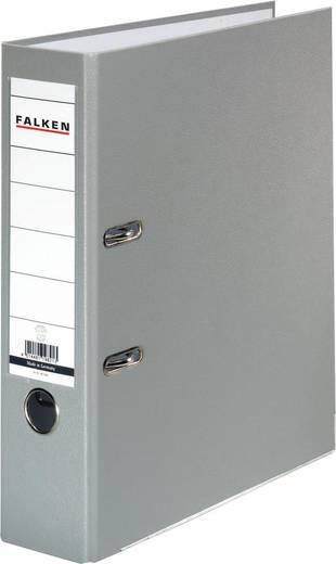 Falken Ordner FALKEN PP-Color DIN A4 Rückenbreite: 80 mm Grau 2 Bügel 9984022