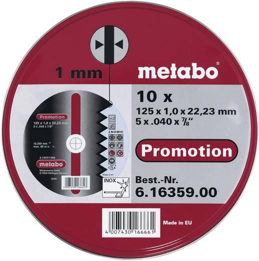 Trennscheiben-Set Inox Metabo 616359000 Durchmesser 125 mm 10 St.