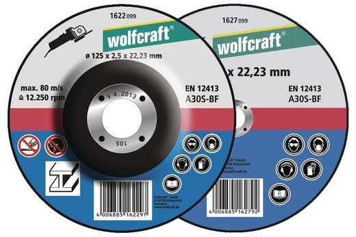 5 Trennscheiben Wolfcraft 1622300 Durchmesser 125 mm 5 St.