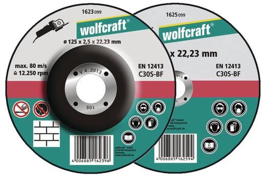 5 Trennscheiben Wolfcraft 1621300 Durchmesser 115 mm 5 St.