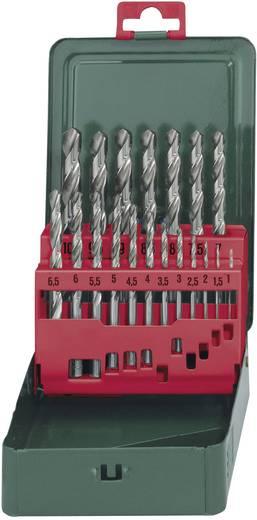HSS Metall-Spiralbohrer-Set 19teilig Metabo 627153000 geschliffen DIN 338 Zylinderschaft 1 Set
