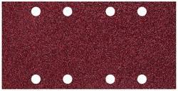 Papier abrasif pour ponceuse vibrante avec bande auto-agrippante, perforé Wolfcraft 1767000 Grain 80 (L x l) 185 mm x 9