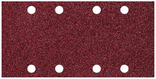 Schwingschleifpapier mit Klett, gelocht Körnung 80 (L x B) 185 mm x 93 mm Wolfcraft 1767000 10 St.