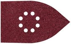 Set de feuilles abrasives pour ponceuse Multi avec bande auto-agrippante, perforé Wolfcraft 1755000 Grain 80, 120, 240