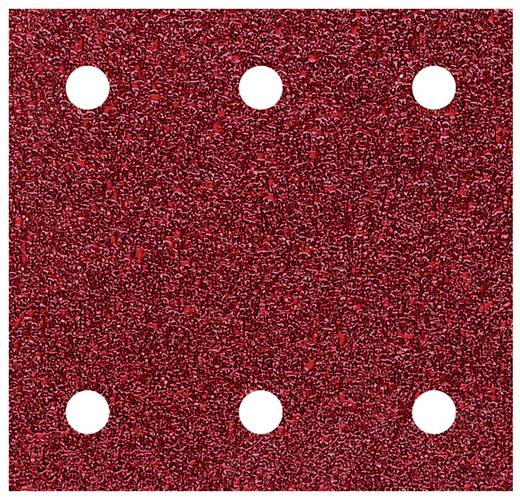 Schwingschleifpapier mit Klett, gelocht Körnung 120 (L x B) 115 mm x 100 mm Wolfcraft 1778000 5 St.
