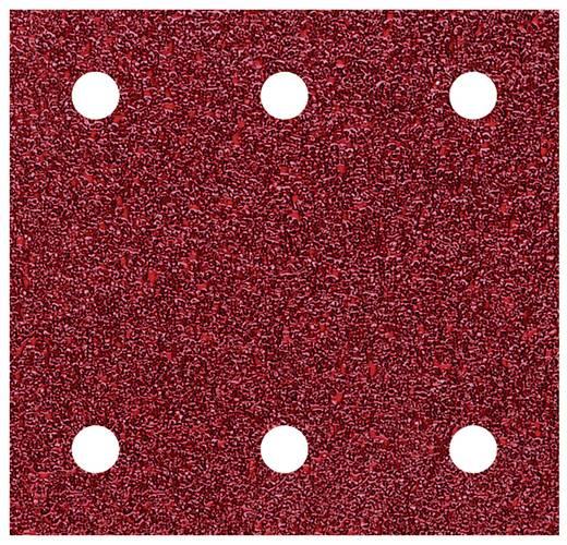 Schwingschleifpapier mit Klett, gelocht Körnung 60 (L x B) 115 mm x 100 mm Wolfcraft 1777000 5 St.