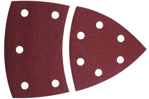 Multischleifpapier mit Klett, gelocht Körnung 40 Eckmaß 95 mm Wolfcraft 1811000 10 St.
