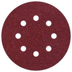 Feuille abrasive pour ponceuse excentrique avec bande auto-agrippante, perforé Wolfcraft 3180000 Grain 24 (Ø) 125 mm 5