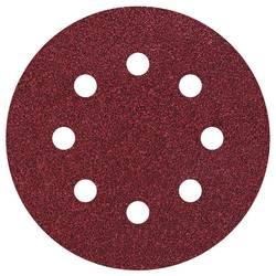 Brúsny papier pre excentrické brúsky Wolfcraft 2271100 na suchý zips, s otvormi, zrnitosť 80, (Ø) 115 mm, 25 ks