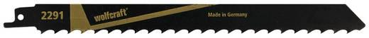 2 Säbelsägeblätter Wolfcraft 2291000 Sägeblatt-Länge 230 mm