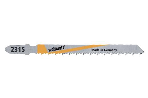2 Stichsägeblätter Wolfcraft 2315000 Holz, Kunststoff 2 St.