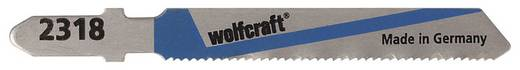 2 Stichsägeblätter Wolfcraft 2318000 Bleche, NE-Metalle 2 St.