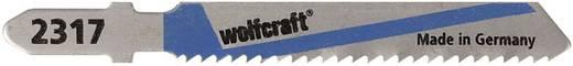 5 Stichsägeblätter Wolfcraft 2367000 Bleche, NE-Metalle 5 St.