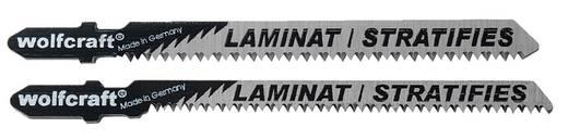 3 Stichsägeblätter Wolfcraft 2379000 Laminat, Parkett 3 St.